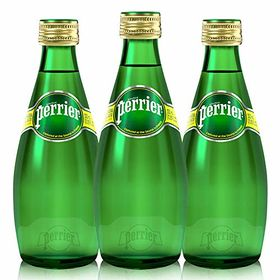 Perrier Sparkling Natural Mineral Water, 330ml (Pack of 3)