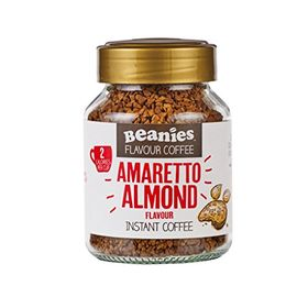 Beanies Instant Coffee, Amaretto Almond, 50g