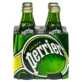 Perrier Sparkling Natural Mineral Rich Water - 330 Ml (Pack Of 4)