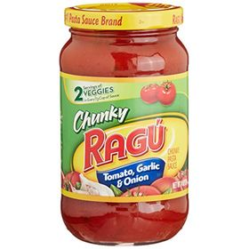 Ragu Tomato Garlic and Onion Pasta Sauce, 396g