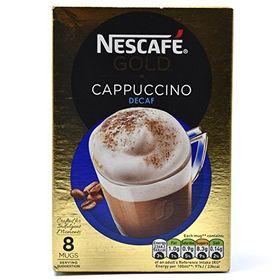 Nescafé Decaf Gold Cappuccino, 120 g -8 Sachets