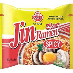 Ottogi Jin Ramen Korean Style Instant Noodles - Pack of 5