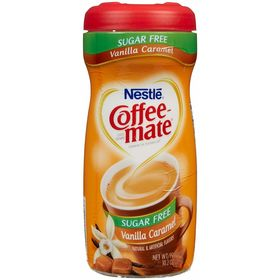 Nestle Coffee Mate Vanilla Caramel Sugar Free-289 Grams