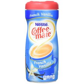 Nestle Coffee Mate French Vanilla Sugar Free -289 Grams