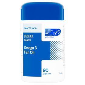 Tesco Omega 3 Fish Oil X 90