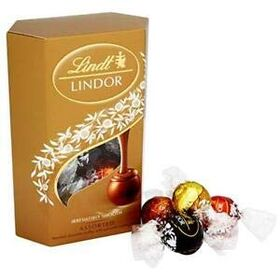 Lindt Lindor Assorted Chocolate Truffle Gift Box 200g