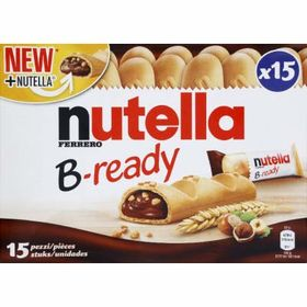 Ferrero Nutella B-Ready 15 Bar ( 15 X 22g ), 330g