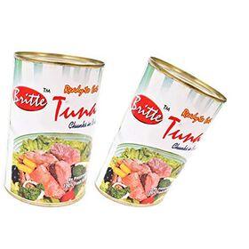 Britte Tuna Chunks in Brine 450 GMS + 450 GMS ( Pack of 2 )