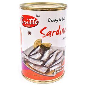 Britte Sardines in Oil 450 GMS