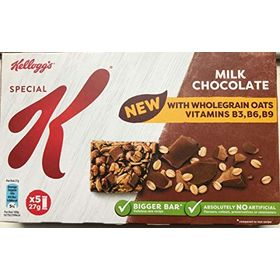 Kellogg's Special K Milk Chocolate Cereal Bar with Wholegrain Oats (27g X 5), 135g