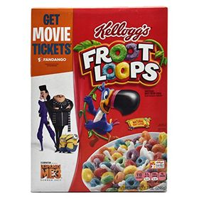 Kellogg's Fruit Loops Cereal (8.7 Oz)