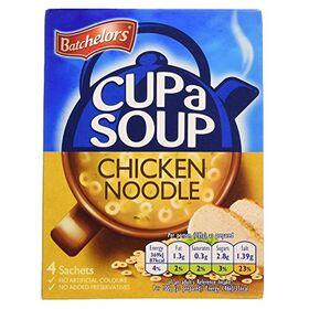 Batchelor's Cup A Soup 4 Sachets - Chicken Noodle, 94 g