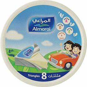 Almarai Cheese Triangles 8 Portions (120g) Expiry 20-07-2020