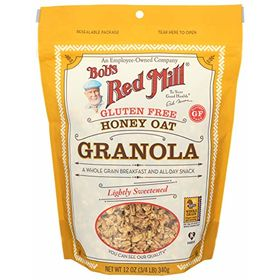 Bob's Red Mill Gluten Free Granola Honey Oat, 12-Ounce