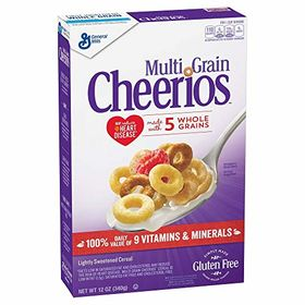 General Mills Multi Grain Cheerios Cereal, 340g