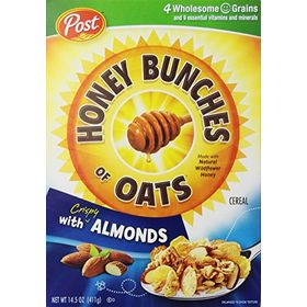 Post Honey Bunches Oats With Almond (411 Grams)