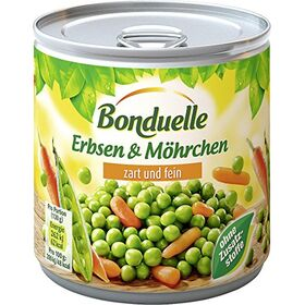 Bonduelle Very Fine Peas and Carrots, Canned, 400 g