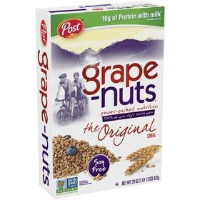 Post Grape Nuts 29 Oz (Pack of Four)