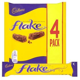 Cadbury Flake, 80g - Pack of 4 (Expiry date 30th April 2020)