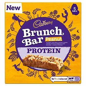 Cadbury Brunch Bar Protein Peanut 5 Bar ( 5 X 32g ), 160g