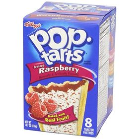Kellogg's Pop Tarts, Frosted Raspberry, 416g (8pcs)