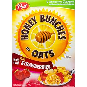 Post Honey Bunch of Oats with Strawberry, 368g
