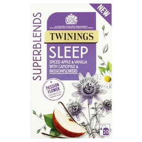 Twinning Superblends Sleep Spiced & Vanilla with Camomile & Passion Flowers Tea 20 Tea Bag, 30g