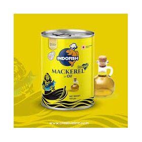 Indofish Mackerel in Oil, 425 Grams (Pack of 2)
