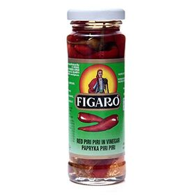 Figaro Red Piri Piri Chilli in Vinegar, 100g