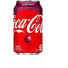 Cola ChefsNeed Cherry Flavour 12 FL Oz, (Pack of 6 Cans X 355ml)
