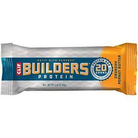Clif Builders Bar Crunchy Peanut Butter Bar (2.4 oz) -12 Count