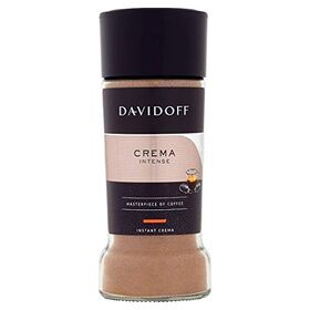 Davidoff Crema Intense Instant Coffee Bottle, 90g