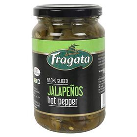 Fragata Jalapeños 350g (Ideal for Nachos, Pizzas, Salads and Sandwiches)