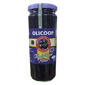 Olicoop Spanish Black Olives Pitted 227gm