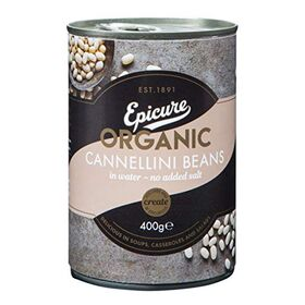 Epicure Cannellini Beans in Water, 400g