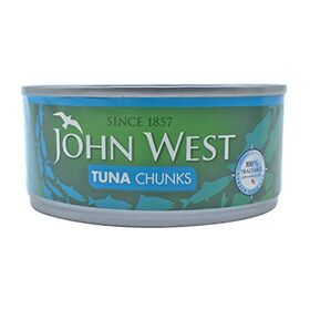 John West Tuna Chunks in Brine, 160g