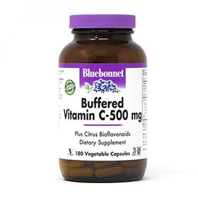 Bluebonnet Nutrition, Buffered Vitamin C, 500 mg, 180 Vcaps