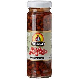 FIGARO Pink Peppercorns in Vinegar Bottle, 100 g