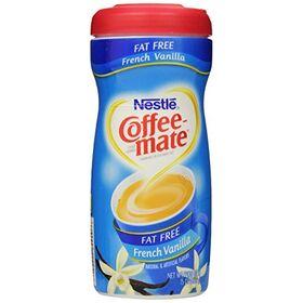 Coffee-Mate Coffee Creamer Fat Free French Vanilla, 15 oz