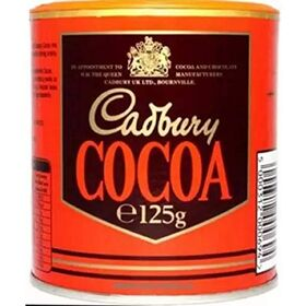 Cadbury Cocoa for Drinking and Baking - 125g Instant Coffee (125 g, Chocolate Flavoured)