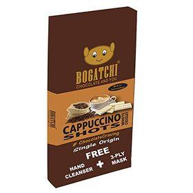 BOGATCHI Cappuccino Chocolate Bite | Gluten Free | Premium Blend Instant Coffee Bites , 8 Pcs