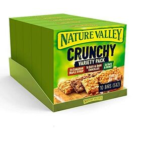 Nature Valley Crunchy Granola Bars Variety Pack 210g (Pack of 5)