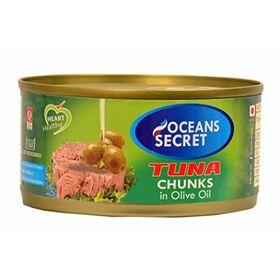Seahath Ocean Secret Tuna in Olive Oil (180g) - Pack of 4