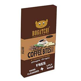 BOGATCHI Coffee Chocolate Bites | Gluten Free | Premium Blend Instant Coffee Bites , 8pcs