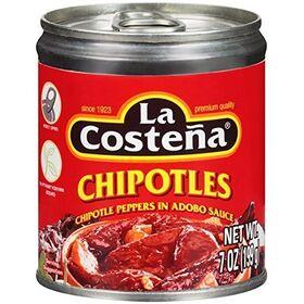 La Costena Chipotle Peppers in Adobo Sauce, 199g
