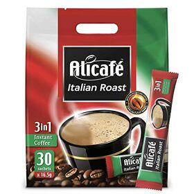 Alicafe Italian Roast 3 in 1 Instant Coffee Packet (30 X 16.5g) 495g