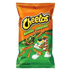 Frito-Lay Cheetos Cheddar Jalapeno Crunchy Pouch, 226.8 g