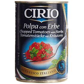 Cirio Chopped Tomatoes with Herbs, 400g