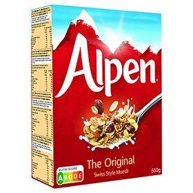 Alpen The Original Swiss Style Muesli, 550 g