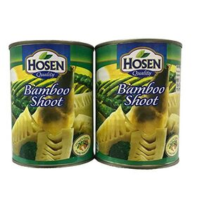 Hosen Japanese Quality Bamboo Shoot Cans 552gm Each , (Pack of 2 cans X 552gm)